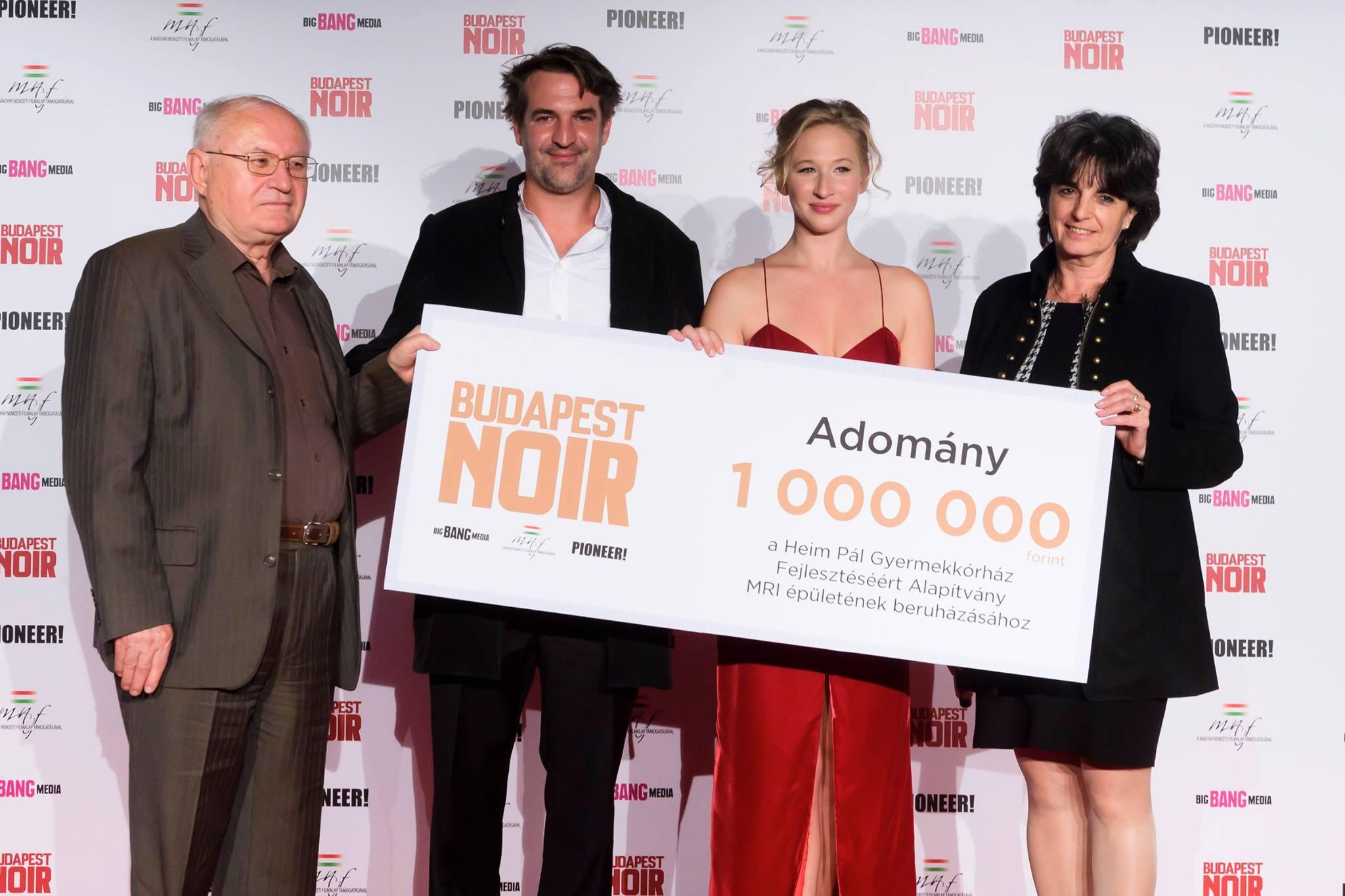 'Budapest Noir' Charity Film Premiere Enthrals Audience & Helps Hospital Children