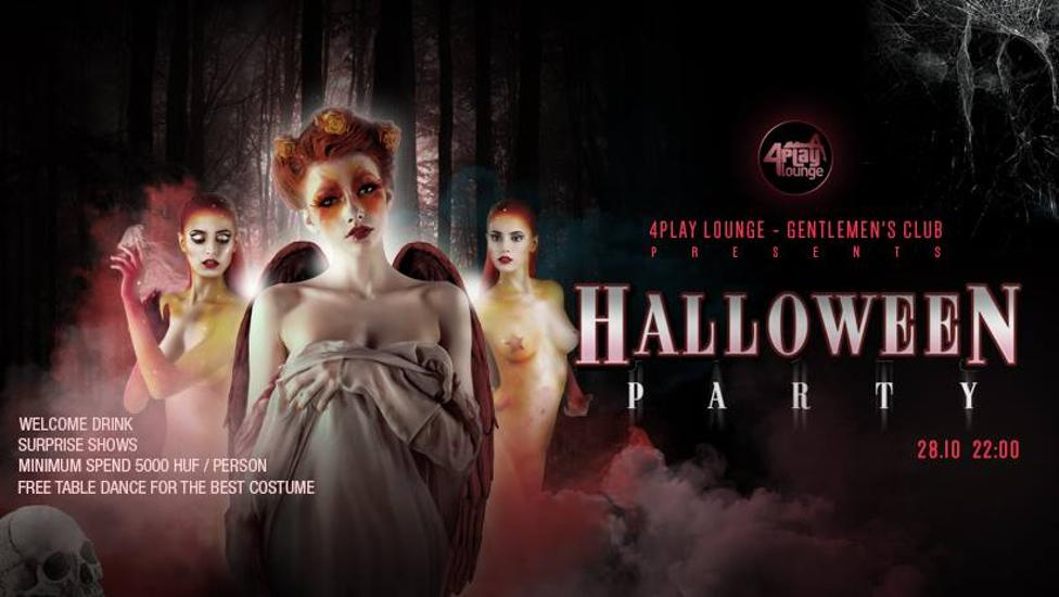 Halloween Party @ 4Play Lounge, 28 October