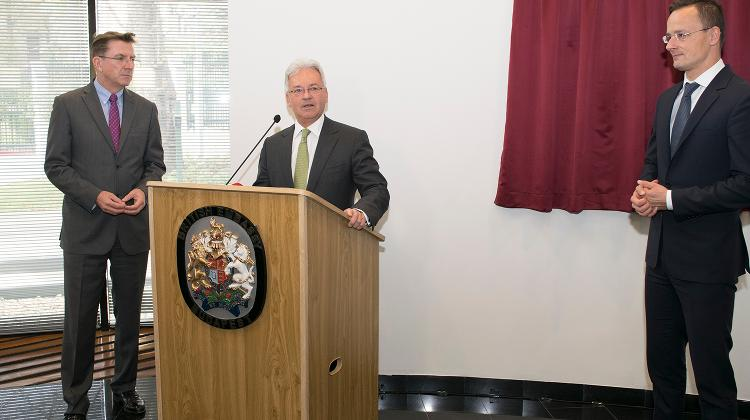 New British Embassy Opening By The Rt. Hon. Sir Alan Duncan