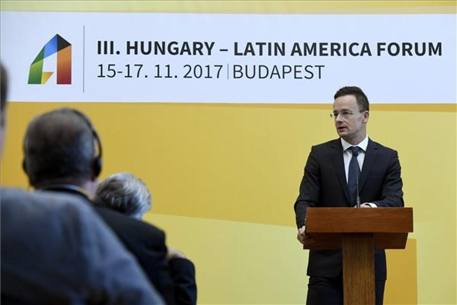 Foreign Minister: Hungary Strives To Build Effective Ties With S America