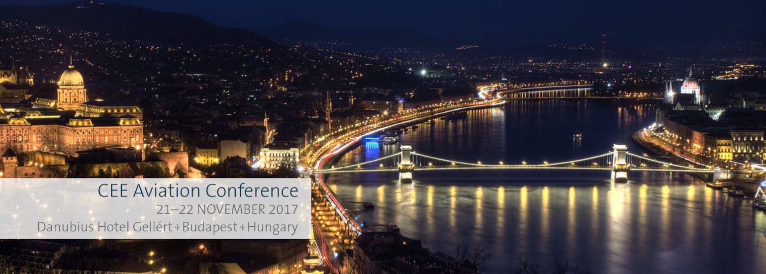 CEE Aviation Conference 2017, Budapest, 21 - 22 November