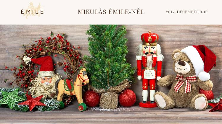Santa Claus Is Coming To Émile On 10 December