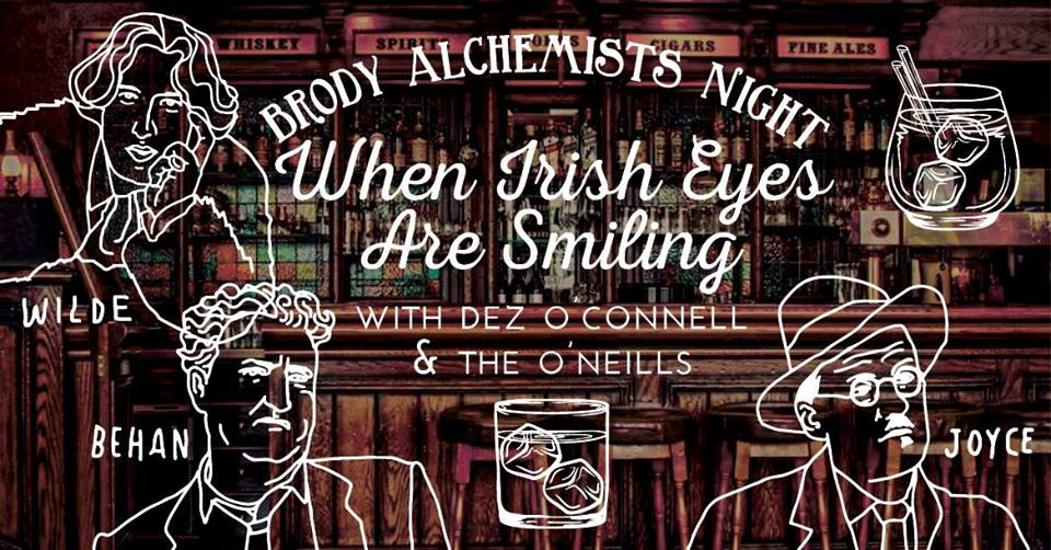 Brody Alchemists Night - Taste The Music: Irish Edition, Brody Studios, 23 November