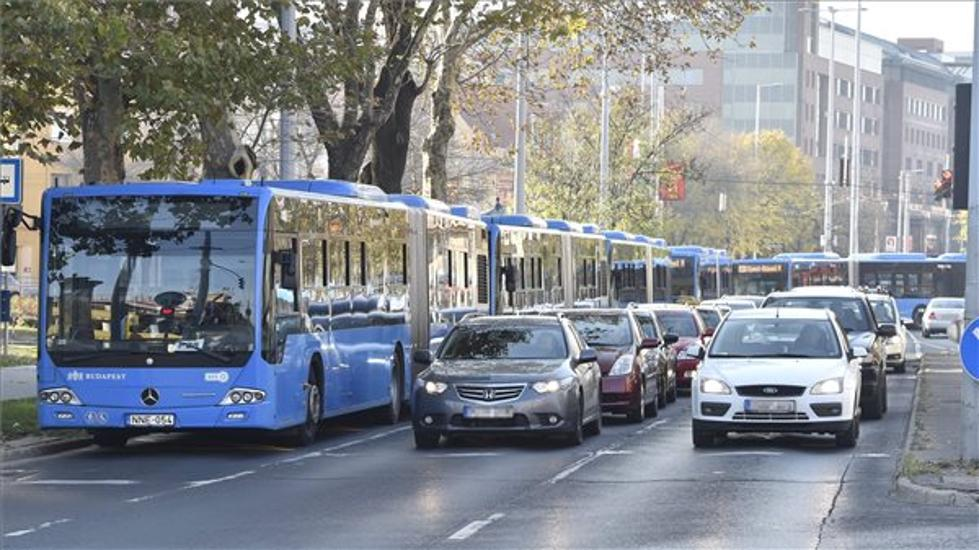 Budapest Dodges Traffic Chaos