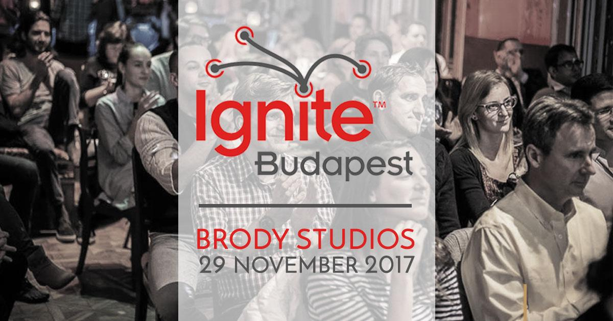 Ignite Budapest: 'Speedy Presentations In English'