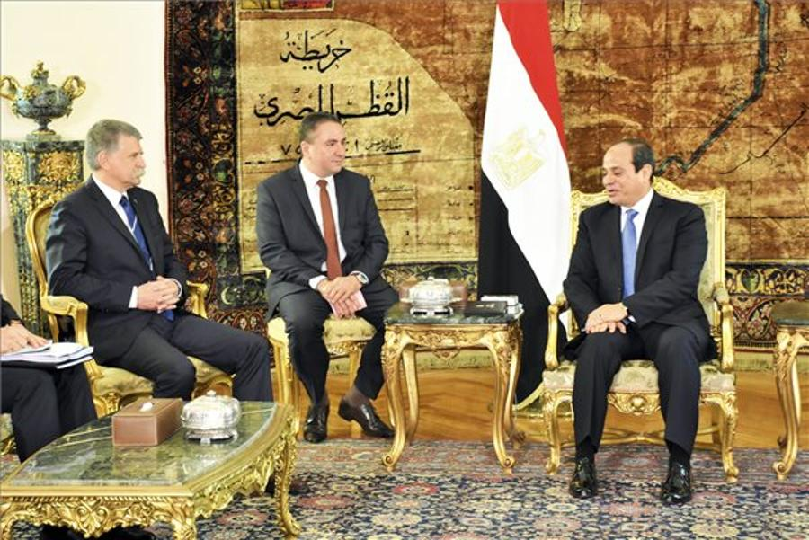 Hungary Backing Egypt's Efforts Against Terrorism