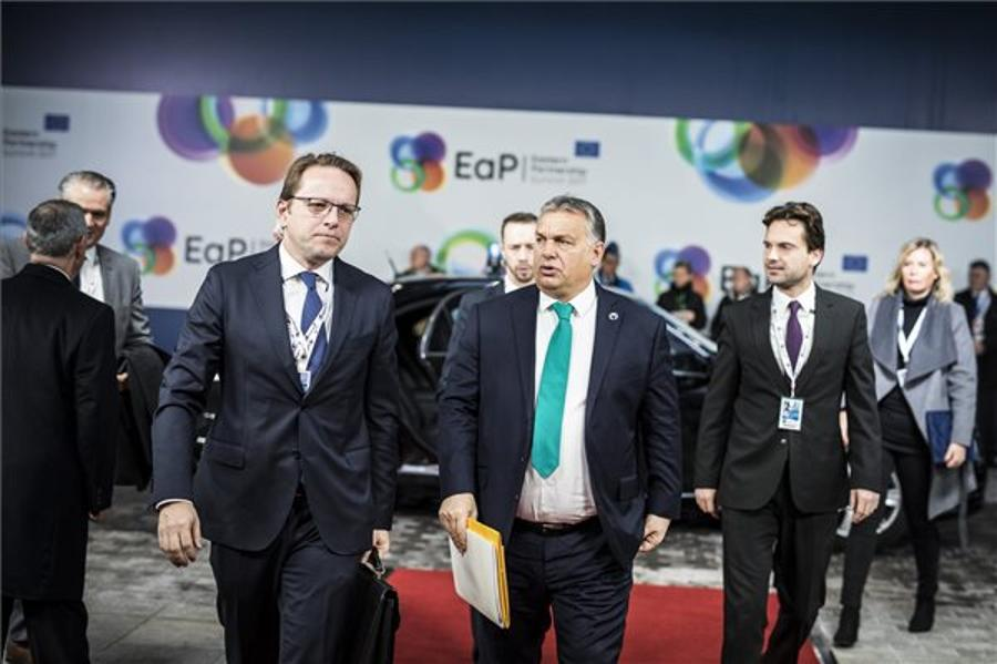 Orbán Leaves For Brussels, Budapest To Host CEEC-China Summit