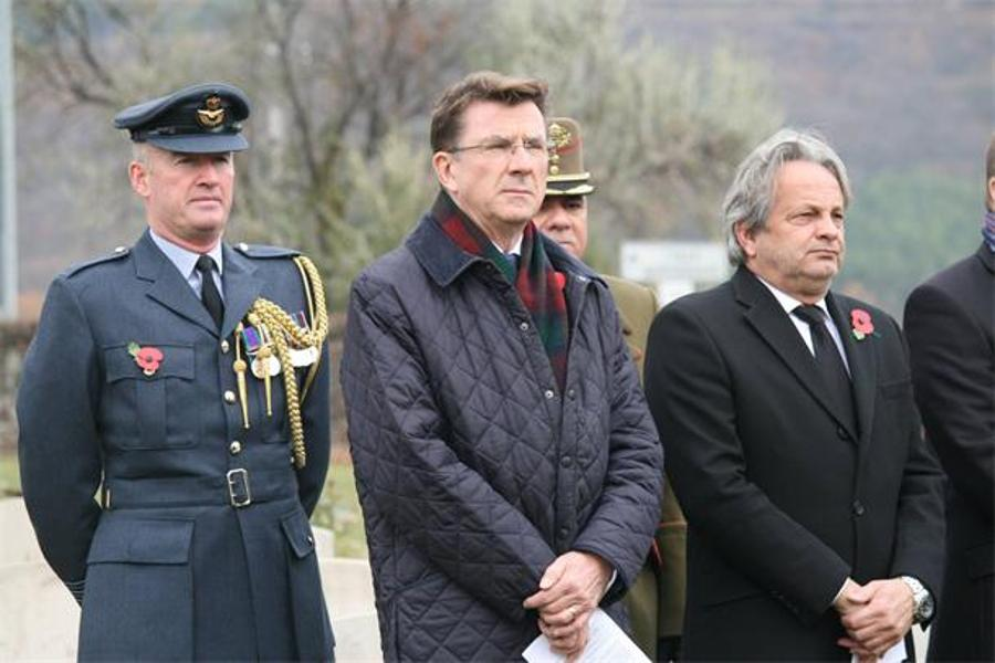 See What Happened @ British Annual Remembrance Ceremony In Hungary