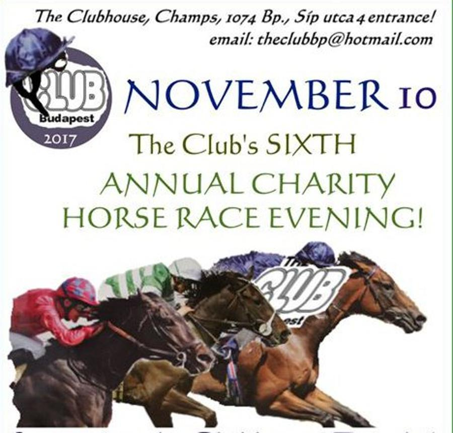'Charity Horse Racing', Budapest, 10 November