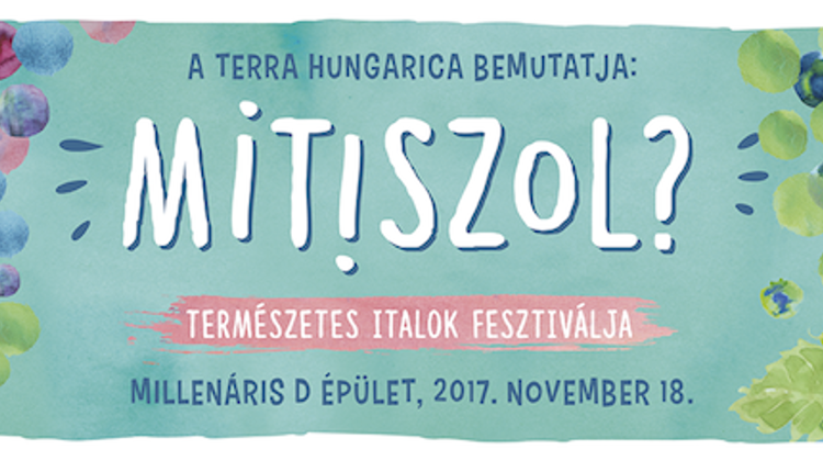 """What Do You Drink?"" Festival @ Millenáris Budapest, 18 November"