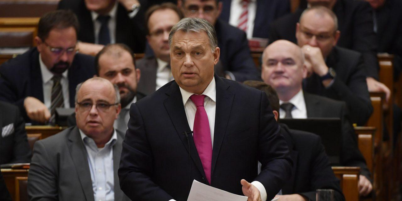 Hungary's Ruling Parties Propose Parliamentary Decree To Thwart 'Soros Plan'