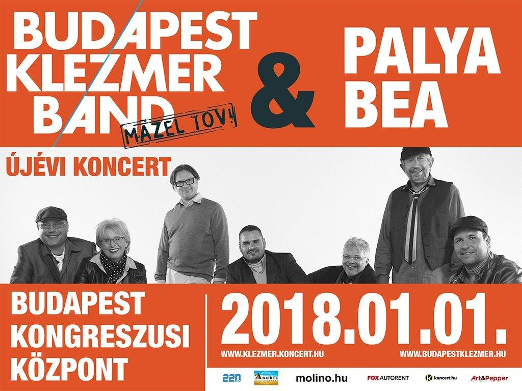 Budapest Klezmer Band – New Year's Concert With Bea Palya, 1 January