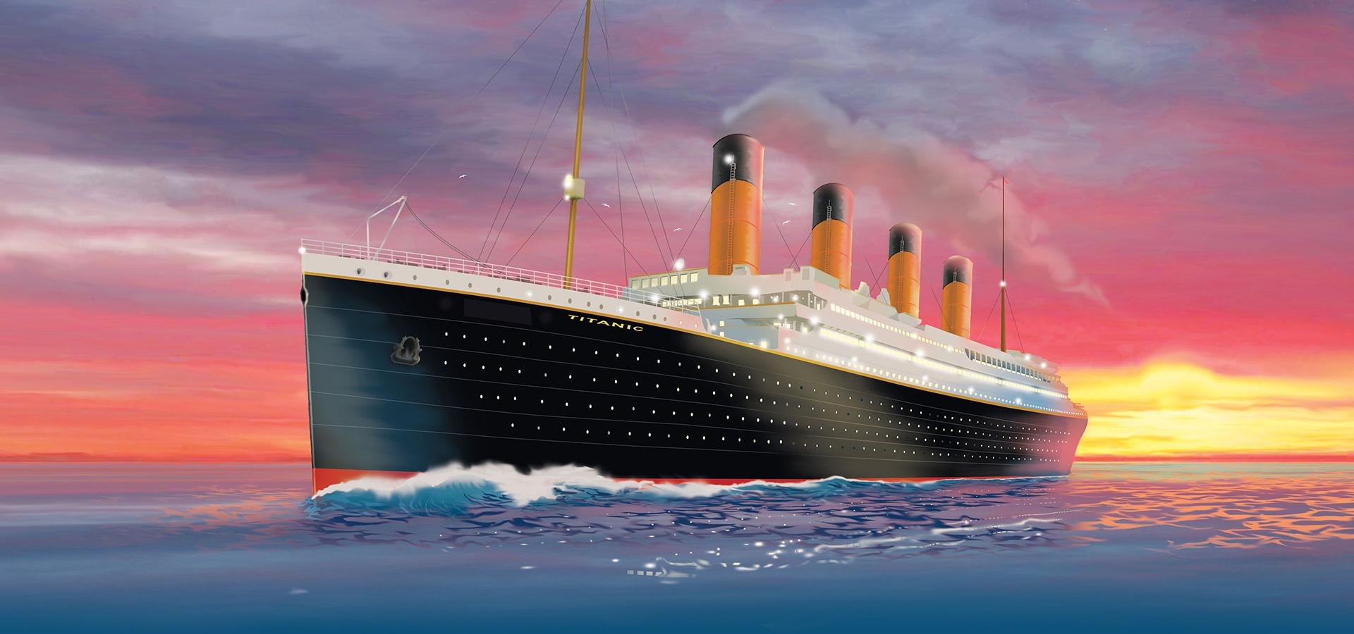 Now On: Titanic Exhibition @ Komplex Budapest
