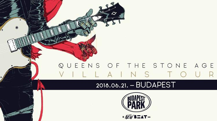 "Queens Of The Stone Age ""Villains World Tour 2018"",  Budapest Park, 21 June"