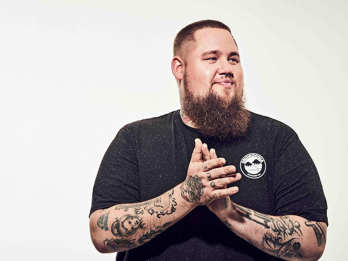 'Rag'n'Bone Man' Concert In Budapest, 4 May