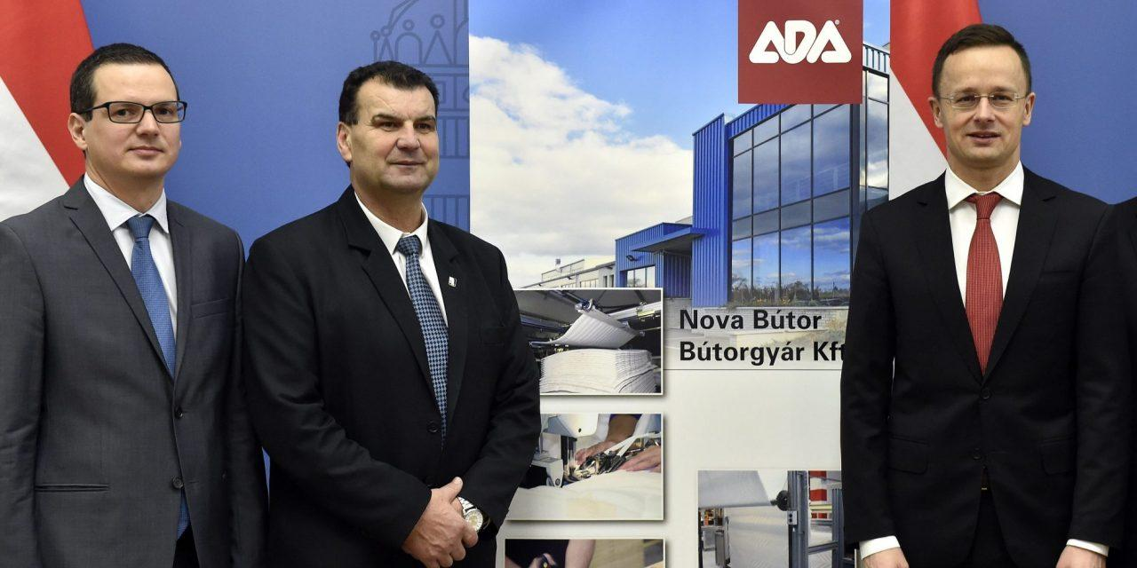 Furniture Manufacturing Group Ada To Expand Its Hungarian Production Capacity