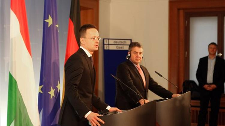 Hungary's Foreign Minister: V4, Germany Must Cooperate To Make Europe Strong Again