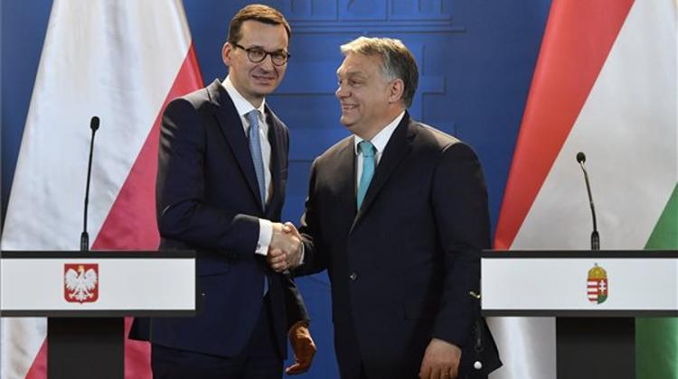 Polish Prime Minister: Poland, Hungary Discuss Plans For Regional Bank