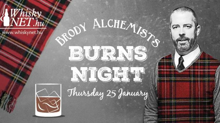 'Alchemists Burns Night' @ Brody Studios, 25 January