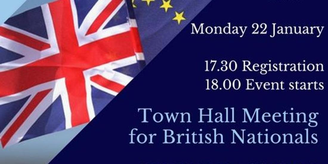 'Town Hall Meeting For British Nationals' By British Embassy Budapest, 22 January