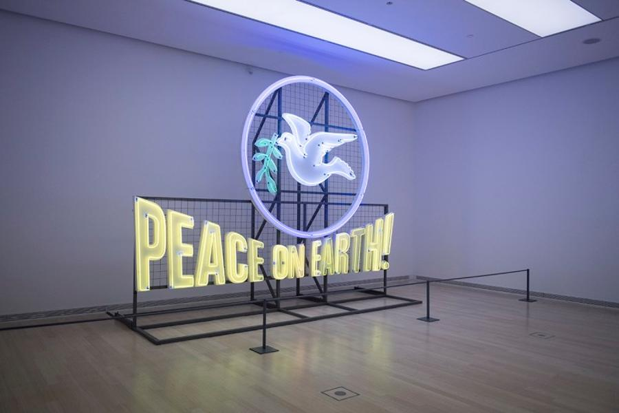 'Peace On Earth Exhibition', Ludwig Museum, Until 14 January