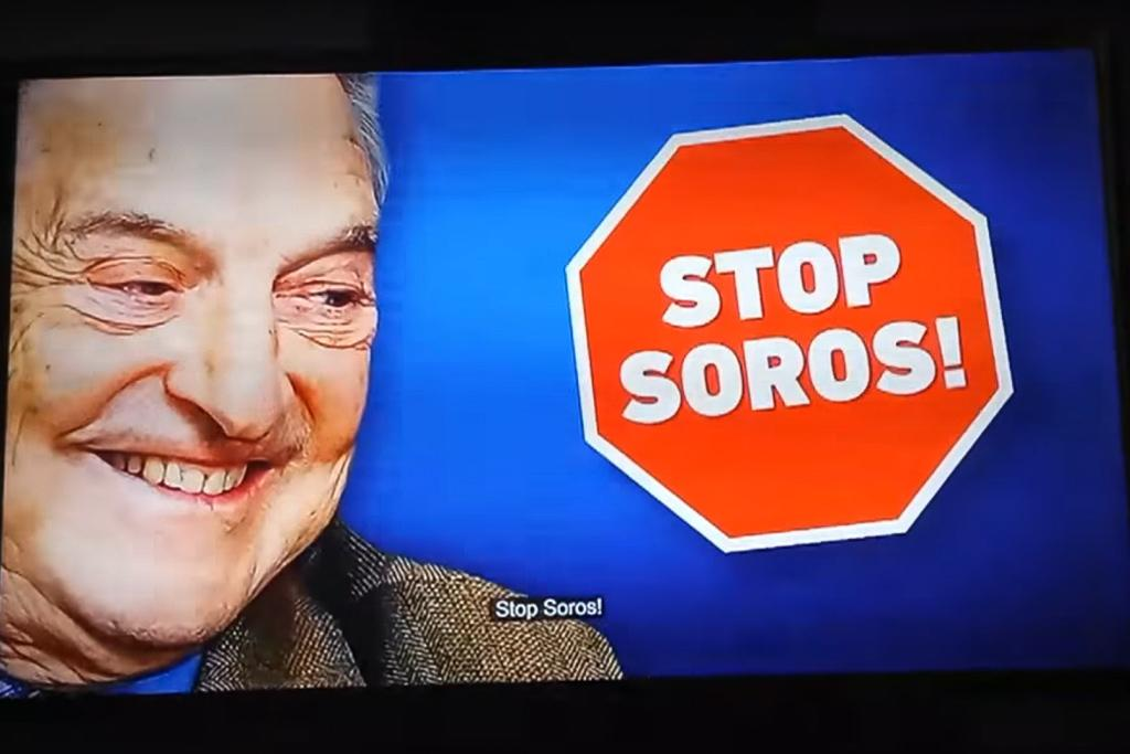 """Stop Soros"" Propaganda Video Hits Airwaves"