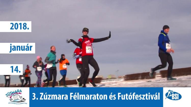 'Zúzmara Winter Half Marathon', Hungexpo Budapest, 14 January